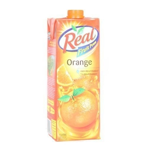 Picture of REAL ORANGE FRUIT JUICE 1 LT CARTON