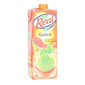 Picture of REAL GUAVA FRUIT JUICE 1 LT CARTON