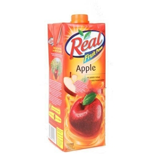 Picture of REAL APPLE JUICE 1 LT TETRAPACK