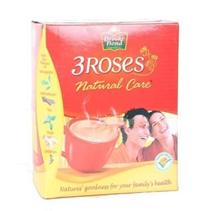 Picture of Brooke Bond 3 Roses Natural Care Tea 250 Gm Carton
