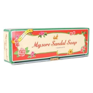 Picture of Mysore Sandal Superior Soap With Pure Sandalwood Oil  3 Nos 150 Gm Pouch