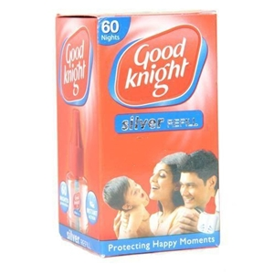Picture of GOOD KNIGHT SILVER REFILL 60 NIGHTS REFILL PACK 45 ML CARTON
