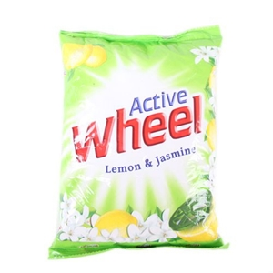 Picture of Active Wheel Detergent Powder Lemon Jasmine 1 Kg Pouch