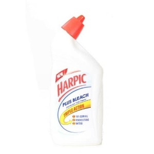 Picture of HARPIC PLUS BLEACH DISINFECTANT TOILET CLEANER 500 ML BOTTLE