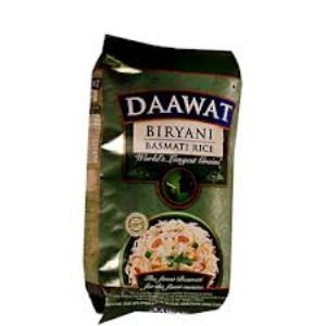 Picture of Daawat Biryani Basmati Rice 1 Kg Pouch