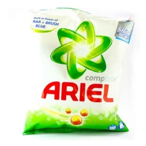 Picture of Ariel Detergent Powder Matic Complete For Front Top Load 1 Kg Carton
