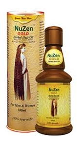 Picture of NUZEN GOLD HERBAL HAIR OIL 100 ML