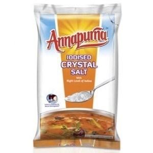 Picture of Annapurna Iodised Crystal Salt 1Kg