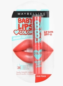 Baby Lips Bright Out Loud Vivid peach
