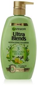 Garnier Ultra Blends 5 Precious Herbs Shampoo 640 ml