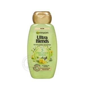 Garnier Ultra Blends 5 Precious Herbs Shampoo 340 ml