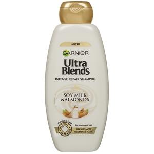 Garnier Ultra Blends Soya Milk and Almonds Shampoo 340 ml