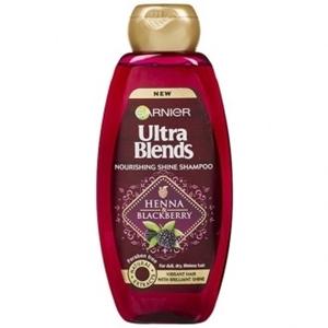 Garnier Ultra Blends Henna and Blackberry Shampoo 340 ml