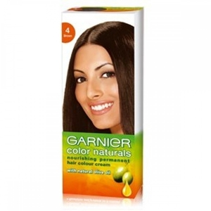Garnier Color Naturals - Regular Shade 4, Brown, 100 ml