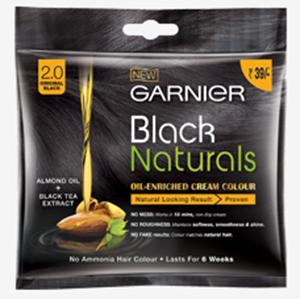 Garnier Black Naturals 2.0 Original Black, 40g