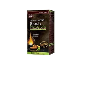 Garnier Black Naturals Kit Shade 3, Brown Black