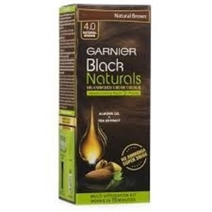 Garnier Black Naturals Kit Shade 4.0 Natural Brown