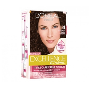 L'Oreal Hair Colour Excellence Natural Dark Brown Shade 4