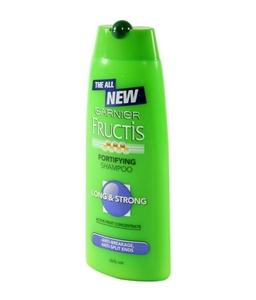 Garnier Fructis Shampoo - Long 'n' Strong, 175 ml Bottle