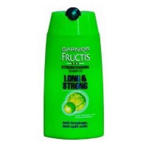 Garnier Fructis Shampoo - Long 'n' Strong, 80 ml Bottle