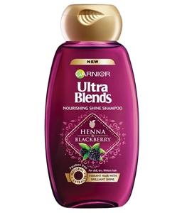 Garnier Ultra Blends Henna and Blackberry Shampoo 175 ml