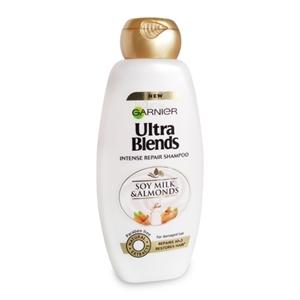 Garnier Ultra Blends Soya Milk and Almonds Shampoo 175 ml