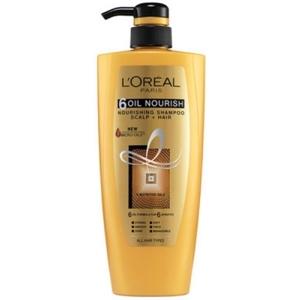L'OREAL 6 Oil Nourish Shampoo 640 ml