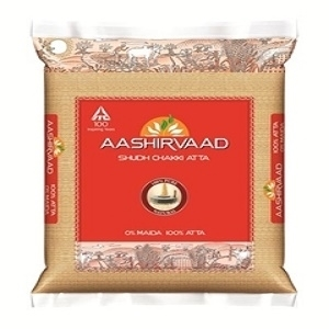 Picture of Aashirvaad   whole wheat Atta  1 Kg