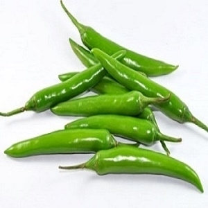 Picture of Organic Green Chillies 500g